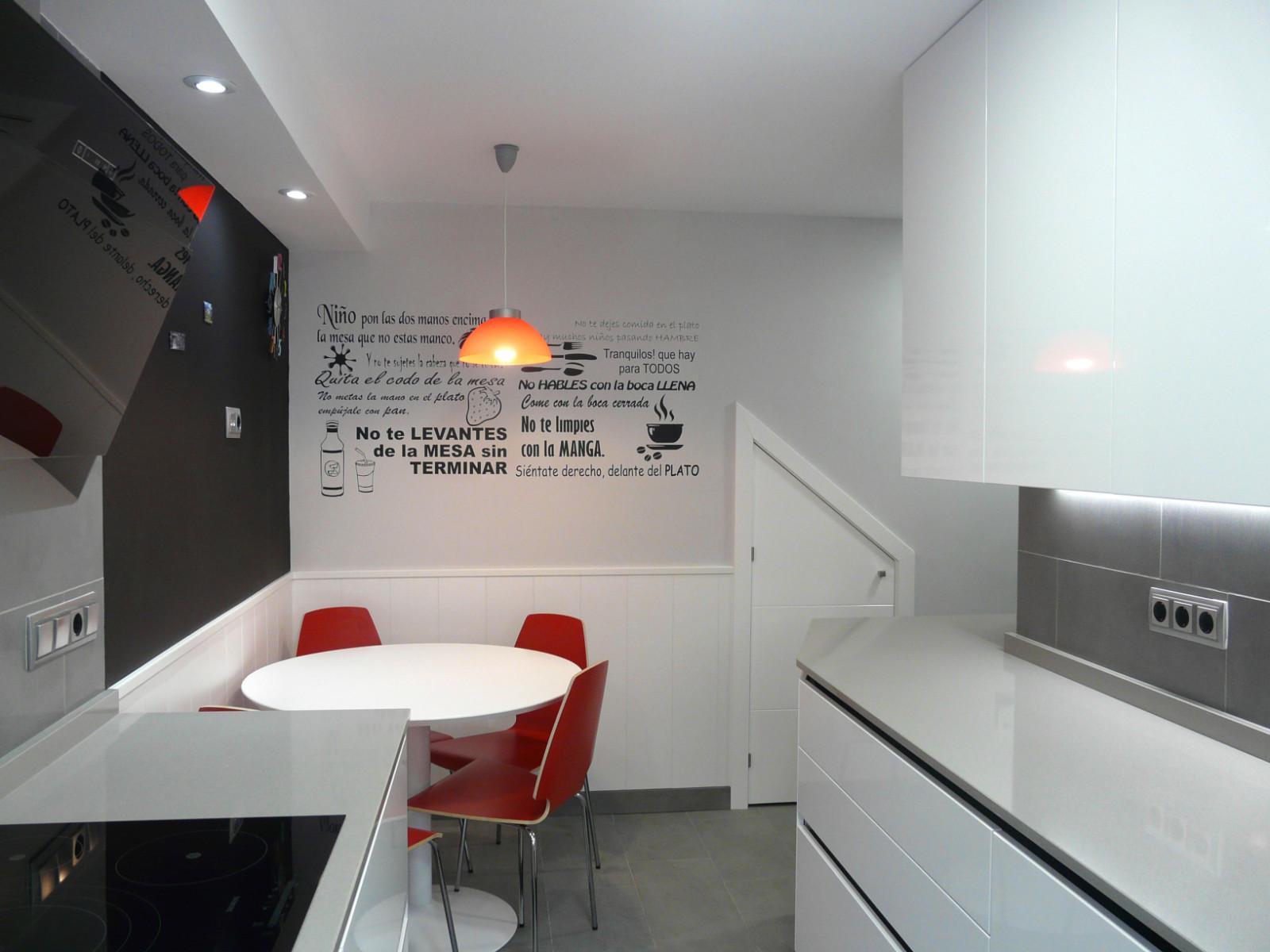 Cocina montada en Madrid